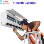 Dịch vụ vệ sinh máy lạnh quận 6
